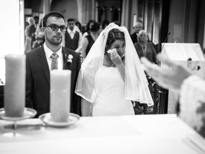Italian wedding bride emotion ceremony