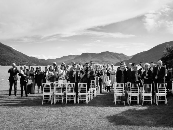 Lake Maggiore wedding ceremony