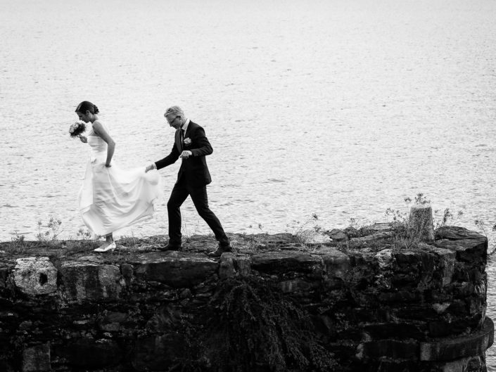 Lake maggiore wedding portrait