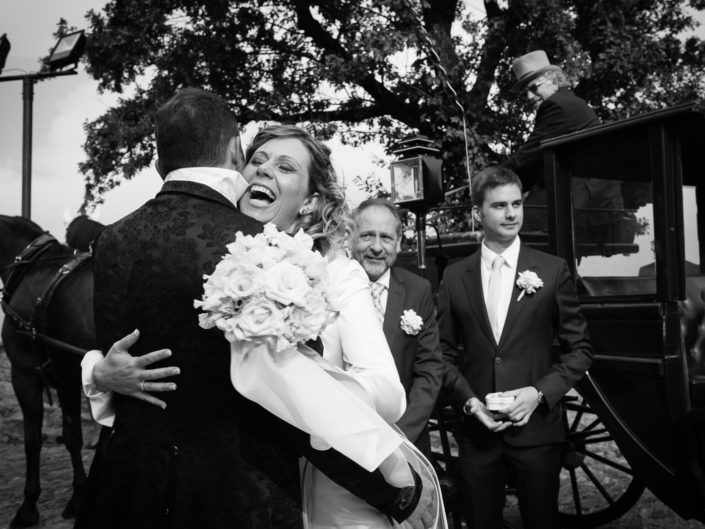 Bride and Groom - Wedding In Italy