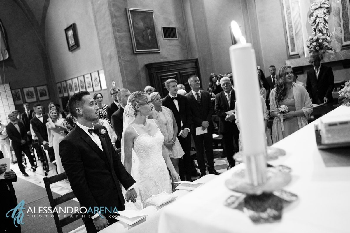 Bride and groom - Italian wedding ceremony lombardy