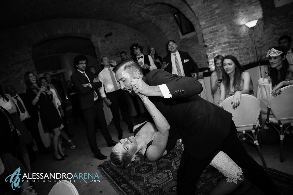 First Dance for bride and Groom - Villa Bossi-wedding location Varese, Lombardy