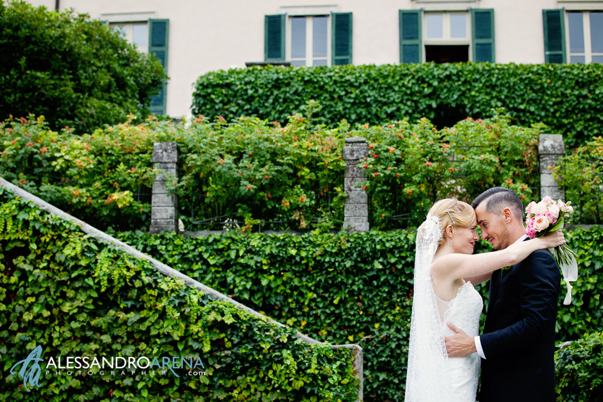 Bride and Groom Portrait session Italian Wedding