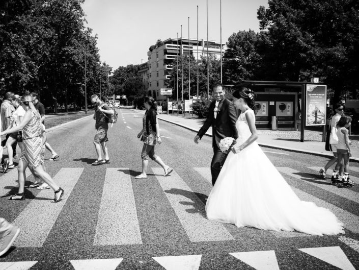 wedding in lugano -bride and groom