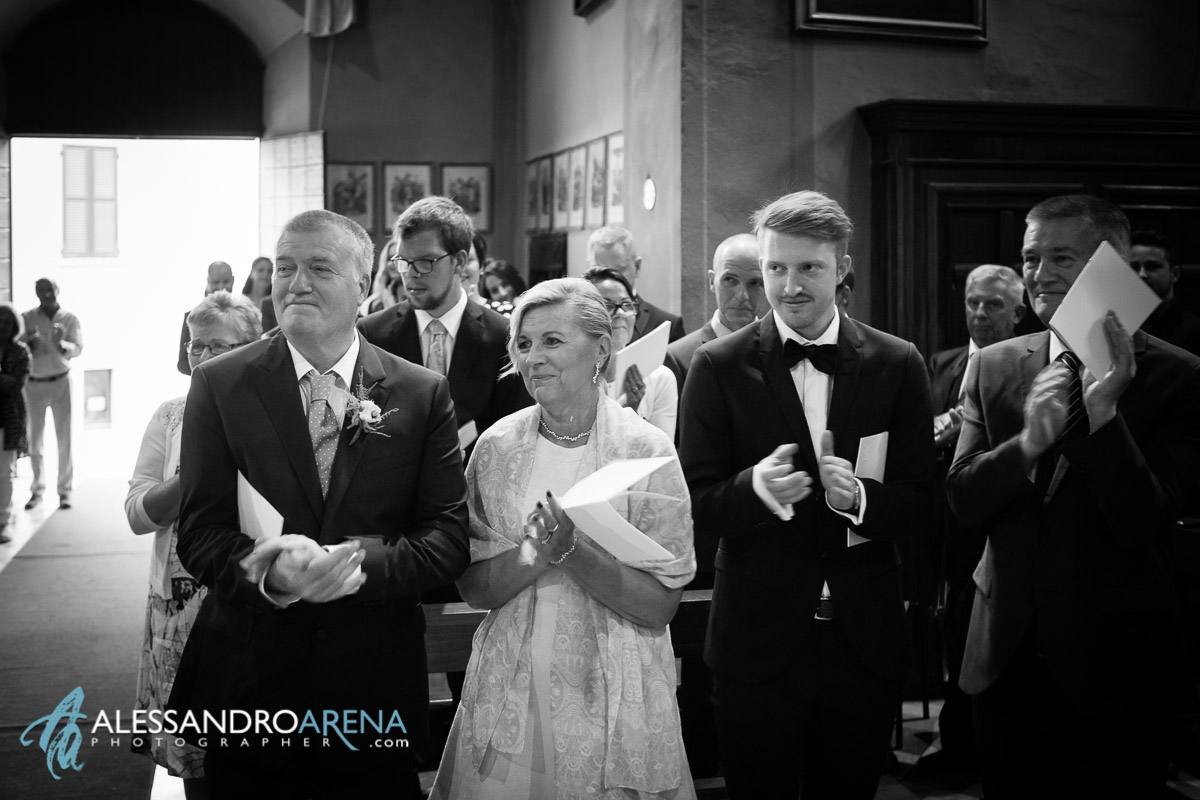 Parents - wedding ceremony in italy lombardy