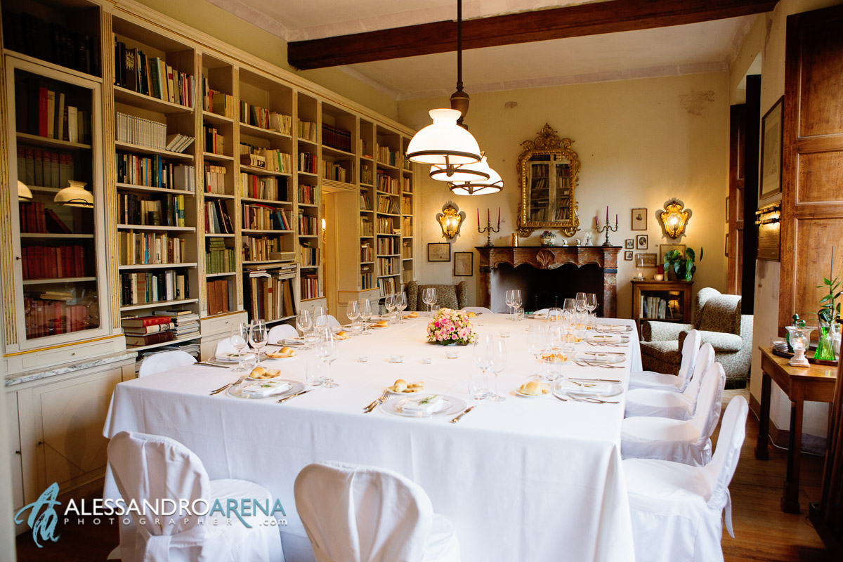 Villa Bossi - wedding reception in Italy