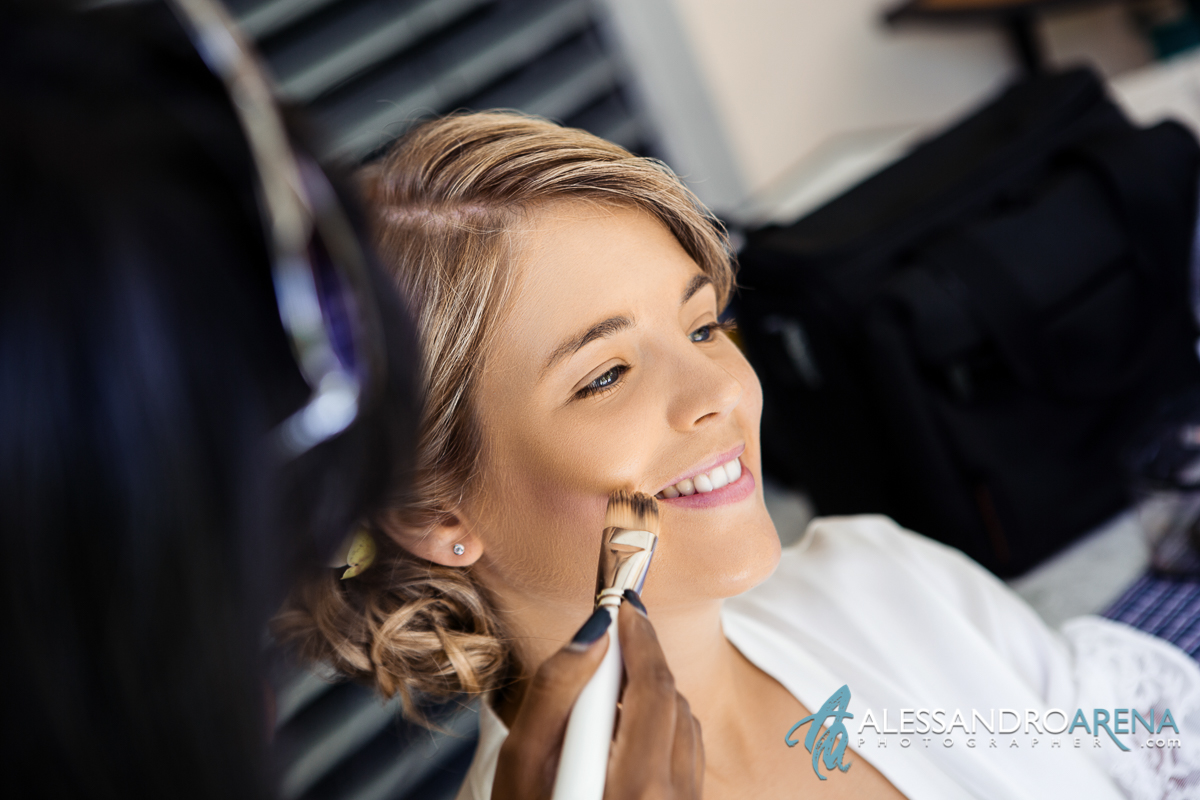Destination wedding lake maggiore - Bride's make-up