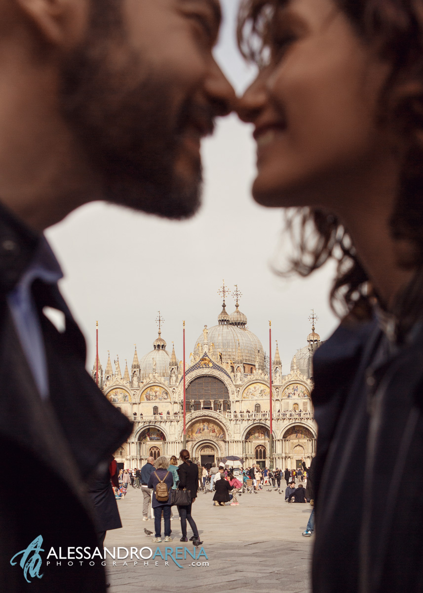 Venice Photographer - Couple session in Piazza San Marco