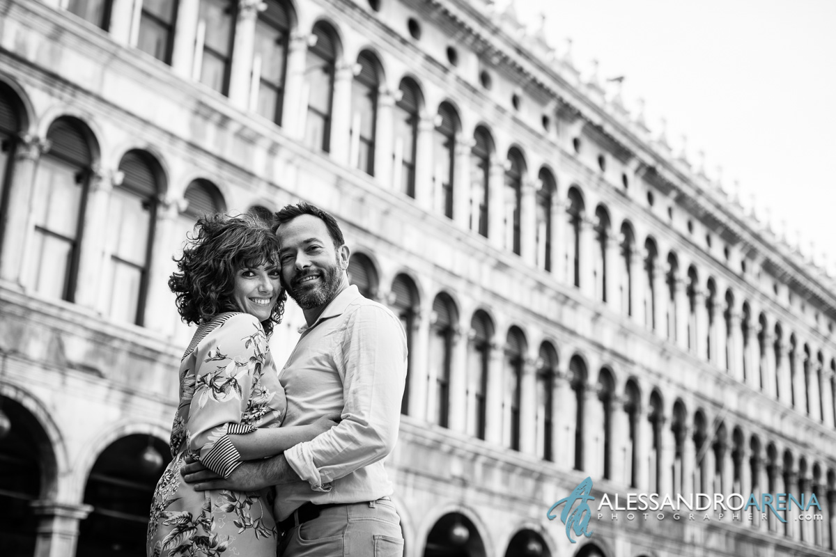 Couple Session in Venice Piazza San Marco