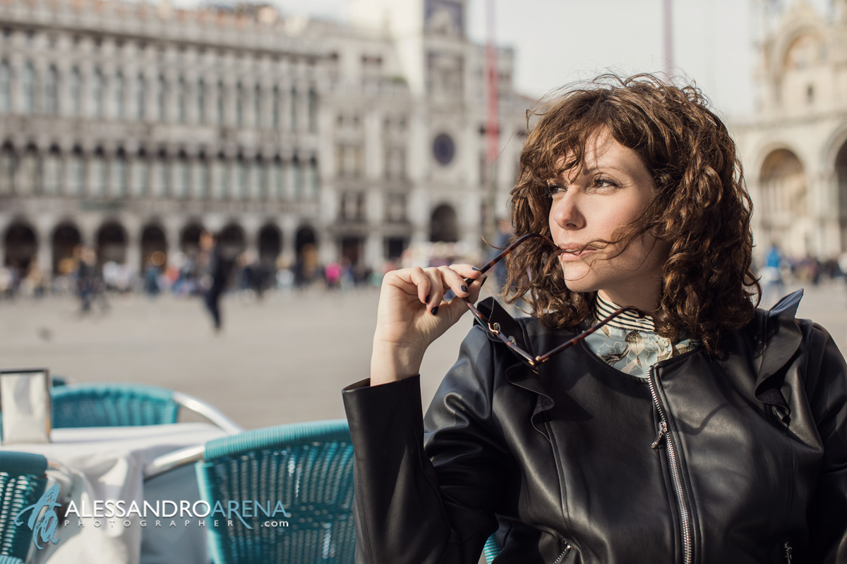 Portrait in Piazza San Marco - Venice - Italy