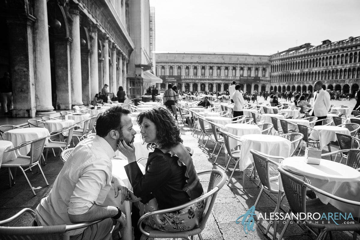 Love in Piazza San Marco - Venice - Italy