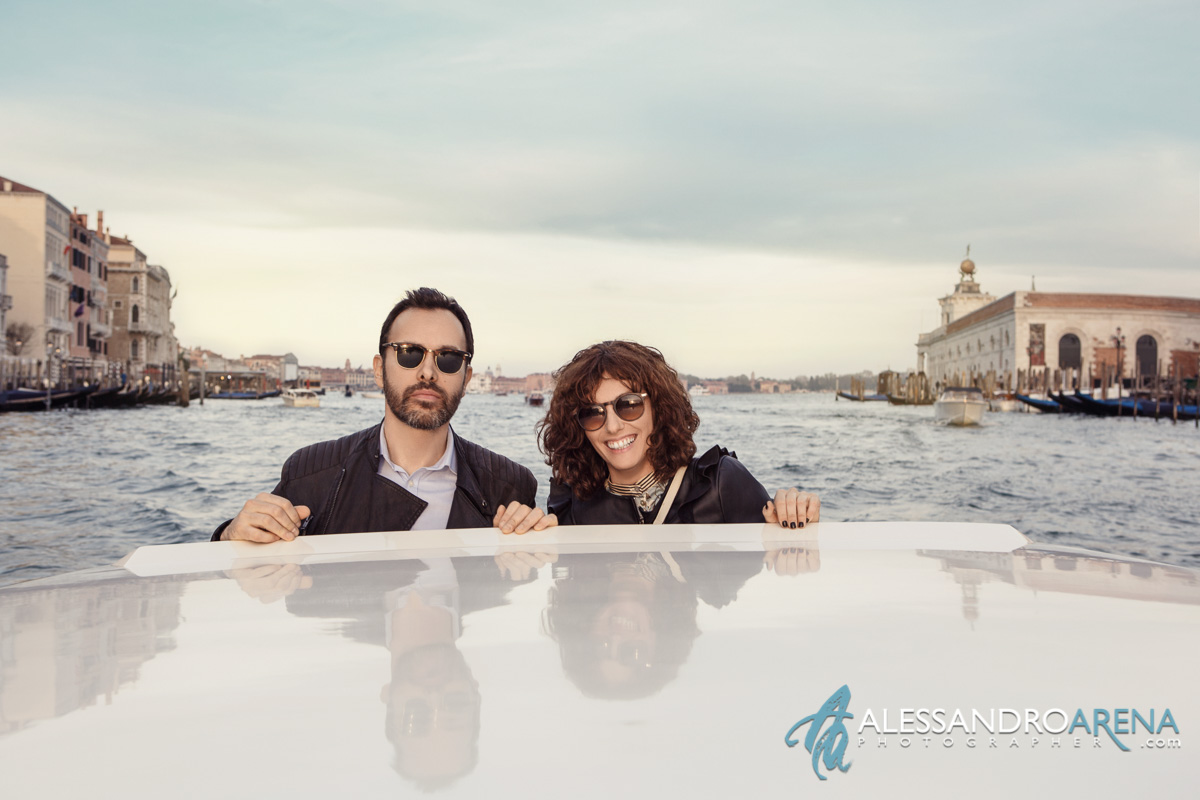 Boat Tour in Venice - Couple session in Canal Grande
