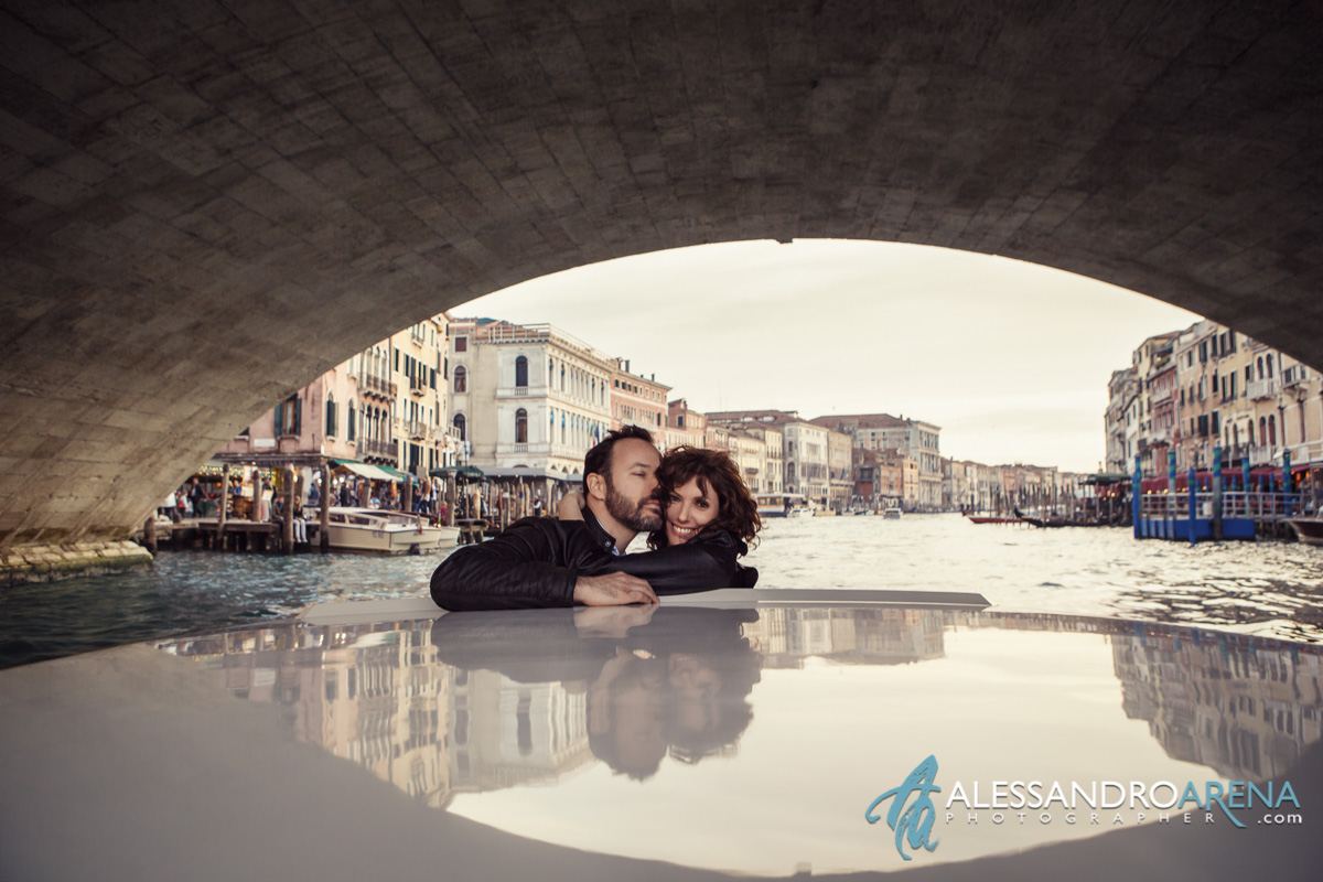Venice photography session - Rialto Bridge