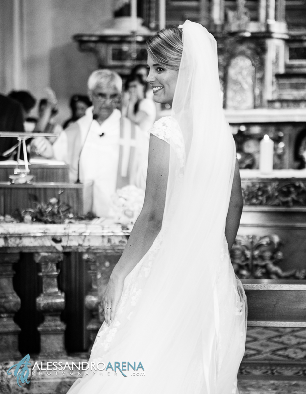 Weddind ceremony - bride wedding dress