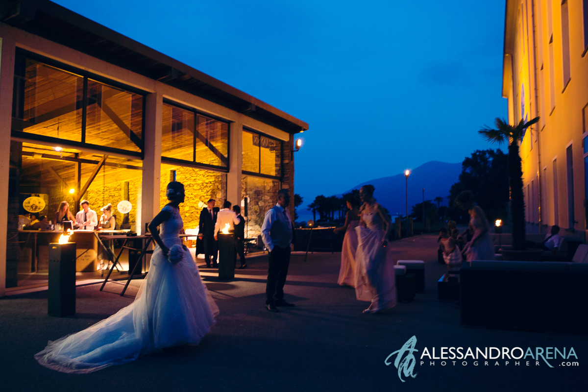 Wedding reception in Lake Maggiore - Centro dannemann Brissago