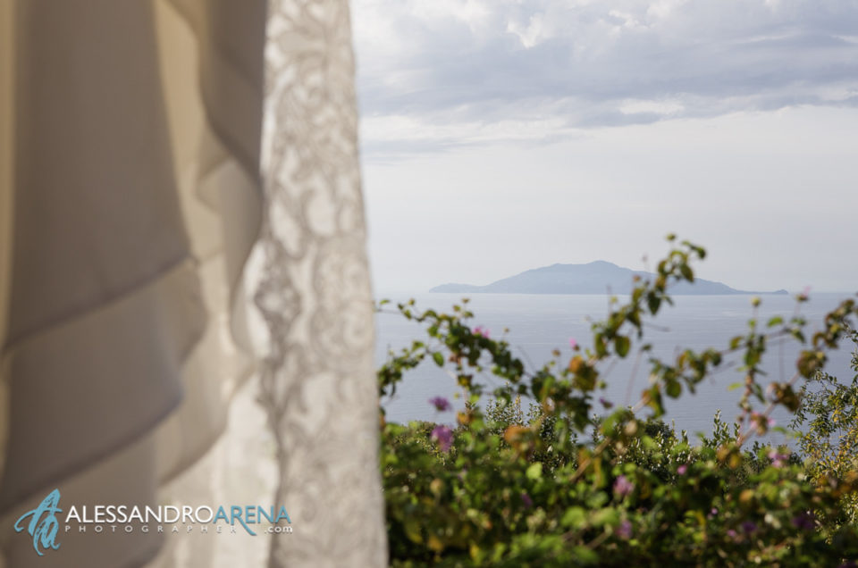 "Destination Wedding Capri, location ""da Gelsomina"" Anacapri"