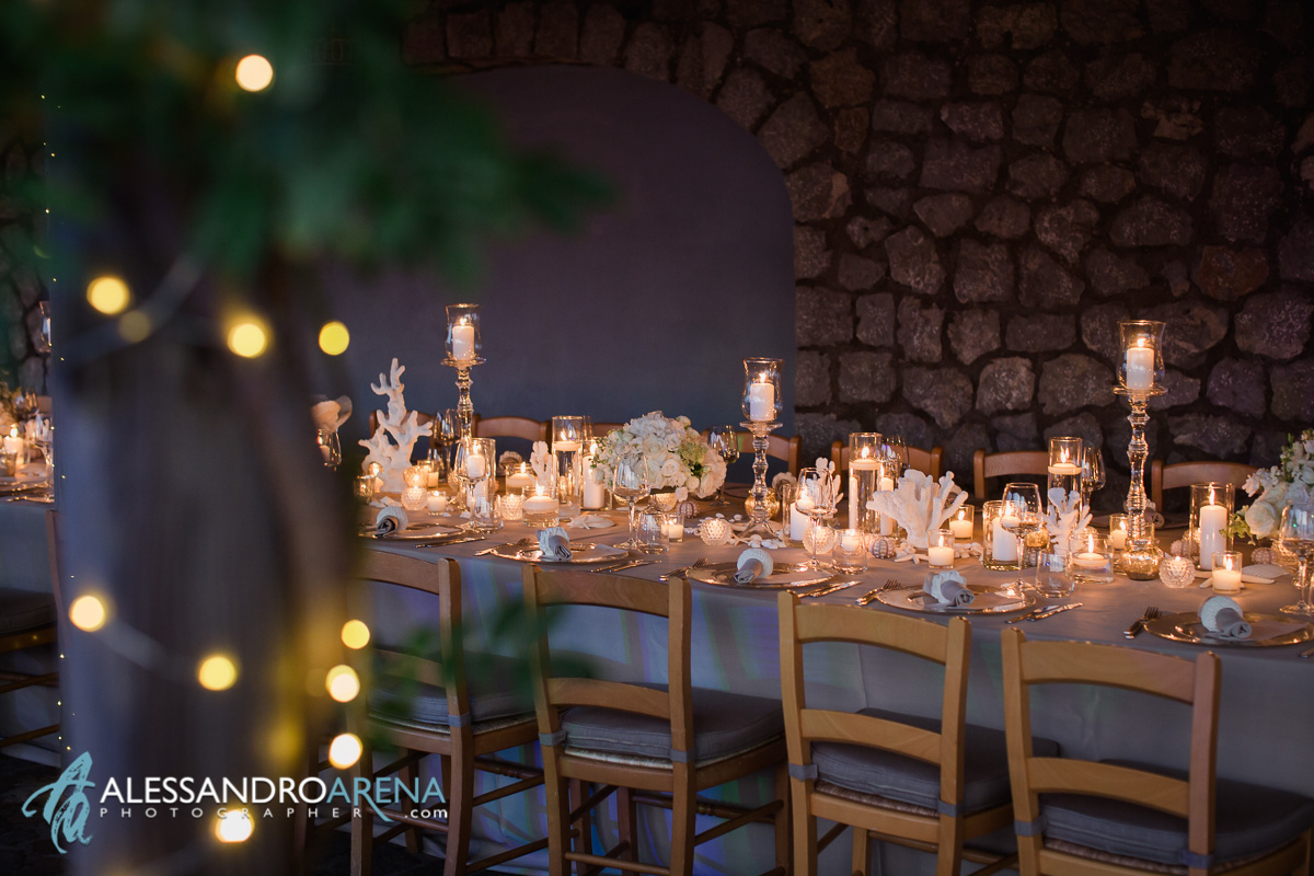 Luxury Wedding location Capri - Da Gelsomina